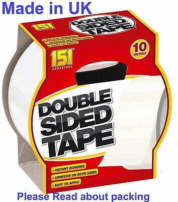 Double Sided Adhesive Sticky Tape Extra Strong Sticky Tape 10M (151)