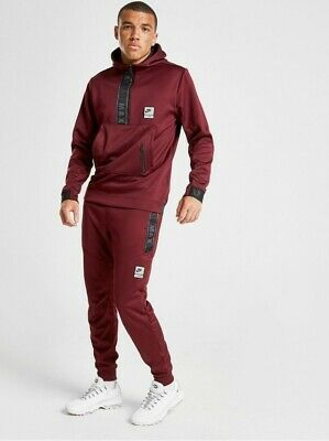NIKE AIR MAX Maroon Tracksuit (Size Small) £65.00