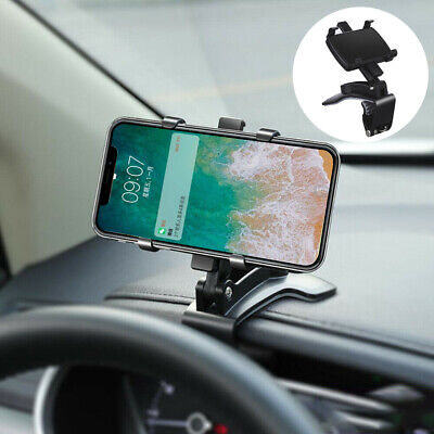 360° Rotate Universal Car Phone Holder Windscreen Window Suction Mount GPS Stand