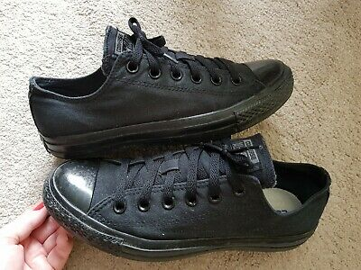 CONVERSE | ALL Star Black Mid Trainer | UK Size 2 Youth