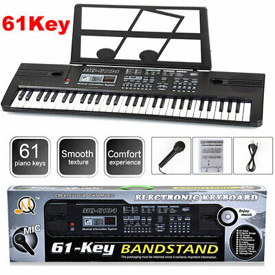 Musical Keyboard Piano 54/61 Keys Electronic Electric Digital Beginner Adult Set