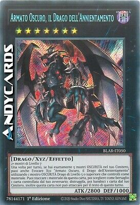 ARMATO OSCURO, IL DRAGO DELL'ANNIENTAMENTO • Segreta SP • BLAR IT050 • Yugioh!