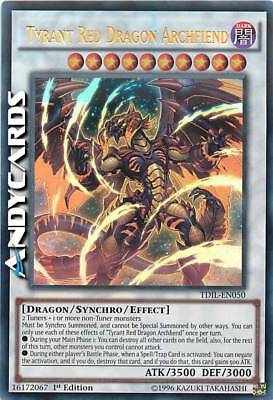TYRANT RED DRAGON ARCHFIEND (Arcidemone Drago Rosso Tiranno) Ultra R TDIL EN050