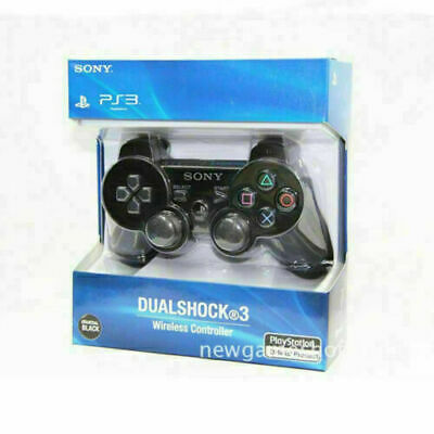 NEW SONY PS3 Wireless DualShock 3  Controller for PlayStation 3(Black/Red/Blue)