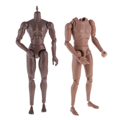 "1//6 ZC Toys 12/"" Muscular Figure Body For Hot Toys TTM19 Body BW//Neck"