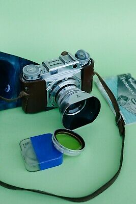 Voigtlander Prominent + ULTRON 50mm F2 | Mint condition