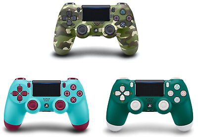 SONY PS4 DUALSHOCK 4 WIRELESS CONTROLLER Green Camo/Berry blue/Alpine Green✅NEW✅