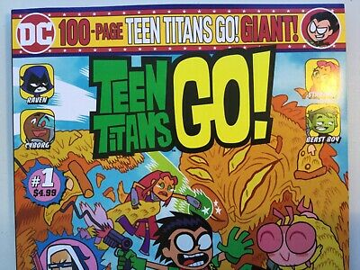 COMBINED SHIPPING TEEN TITANS GO 1-100 PAGE GIANT NM+