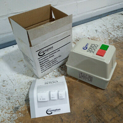 Brook Crompton Controls Series 2000 Direct On Line Starter DL1RHC10 240v 3-5AMP
