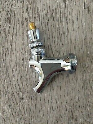 Talos Chrome Draft Beer Faucet for Keg Tap Tower or Kegerator FREE SHIPPING