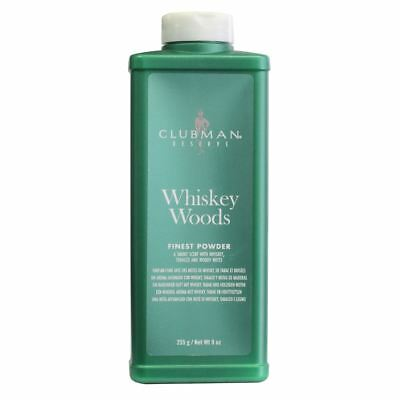 Clubman Reserve Whiskey Woods Poudre fine Talc 255g