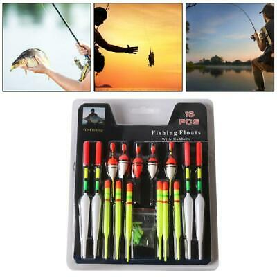 """SEATECH DELUXE FLOATS FOR SEA //PIKE FISHING 3 X RED TOPS  42g 3 X 5 1//2/"""""""