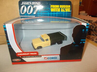 Corgi boxed Chevrolet truck James Bond 007 from Russia with love