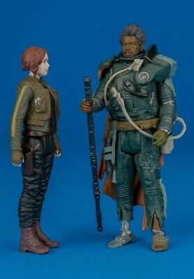 "Saw Gerrera Star Wars Rogue One Jedha Revolt 3.75/"" 5POA loose complete"