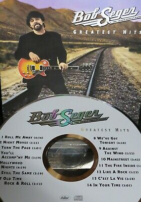 Greatest Hits by Bob Seger & the Silver Bullet,NEW! CD,14 Best of Hits Tracks