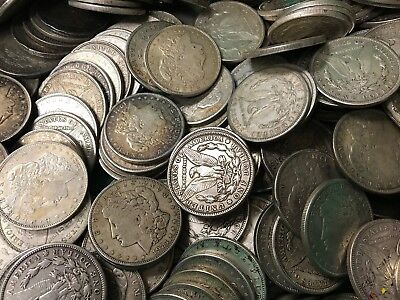 1921 Silver Morgan Dollar Cull Lot of 1,000 S$1 Coins *Credit Card Payment Only