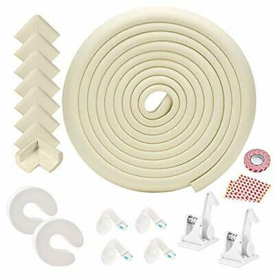Baby Corner Guards, Fairy Baby 17Pcs Baby Proofing Kit Child Safety 1 Edge