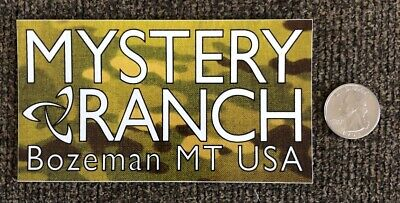 Mystery Ranch Autocollant Decal Multicam Outdoor Backpacking sac militaire Vinyle 7/""