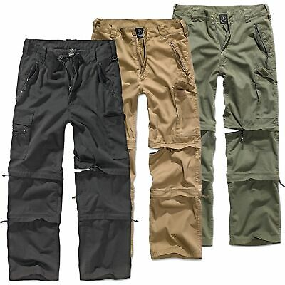 Trekking Trousers Brandit 1011.70 Mens Savannah 3in1 Zip-Off Cargo Pants Camel