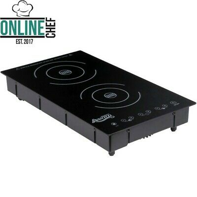 Drop-In Double Induction Ranges Cooker Heaters Electric 208-240 Volts 3100 Watts