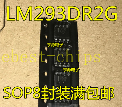 10pcs LM393MX LM393M Low-Power Low-Offset Voltage Dual Comparators SOP8