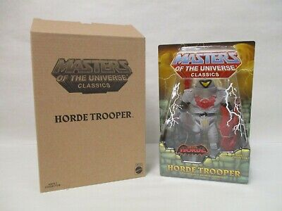 MASTERS OF THE UNIVERSE Classics HORDE TROOPER Action Figure NEW *Damaged Box*