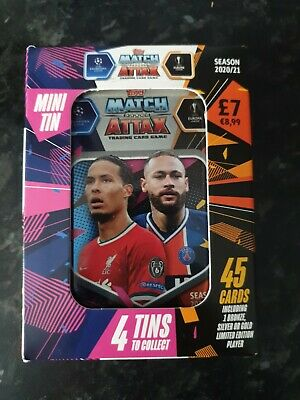 NEW Match Attax Mini Tin Season2020/2021