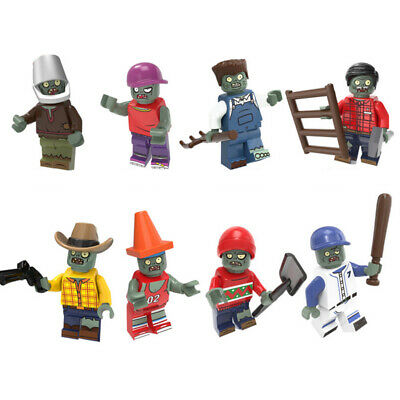 PS4 Xbox One Video Game Plants Vs Zombies Action Mini Figures Toys use with lego