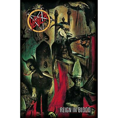 DEVIL ON THRONE SLAYER 27x42 MUSIC TP072 FABRIC POSTER FLAG