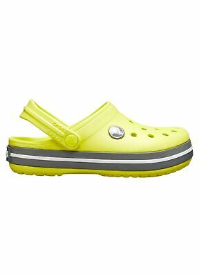 Relaxed Fit Pepper//Graphite CHILDREN/'S CROCBAND CROCS CLOGS 204537