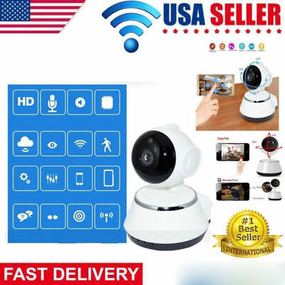 720P HD Wireless Wifi Security IP Camera Baby /Pet Cam with iOS/Android Pan Tilt