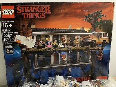LEGO The Stranger Things: The Upside Down (75810) OPEN BOX. Bags SEALED!