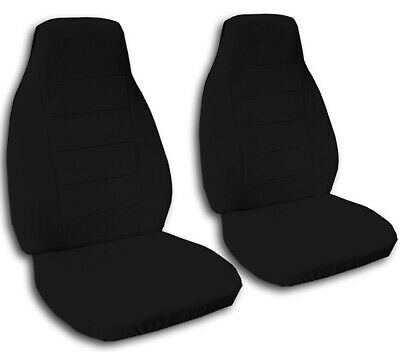 Fits 1971 to 1981 Chevrolet Camaro Black Seat Covers