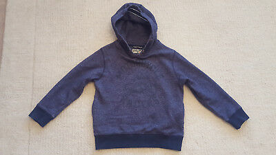 Lovely Boys NEXT Navy Hoodie Jumper Sweatshirt 6 years EX CONDITION