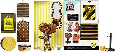 LOL Surprise JK Queen Bee Mini Fashion Doll with 15 Surprises.  NEW RELEASE