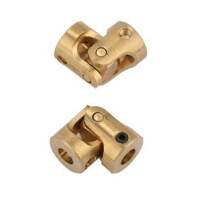 Universal PTO Shaft Coupler Pack Of 2 DIY Copper Connector Adapter For RC Model