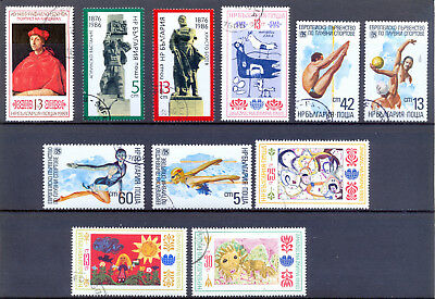 Bulgarien Lot aus 3146 - 3466 gestempelt s. Scans