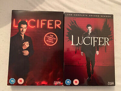 Lucifer Season 1 & 2 Dvd Sets Brand New & Sealed Please Read Official Region 2