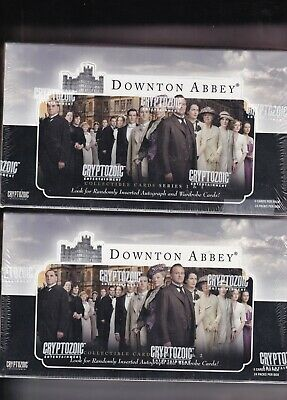 Downton Abbey Series 1 & 2 Trading Cards - Cryptozoic - 2 boxes