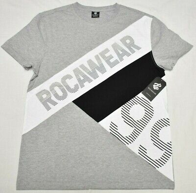Rocawear T-Shirt Men/'s Kingston Logo Graphic Tee Red Urban Streetwear B/&T Q199