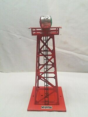 Lionel 394 ROTARY BEACON TOP W//CORRECT DIMPLE BULB /& INSTRUCT BEST PRICE ON