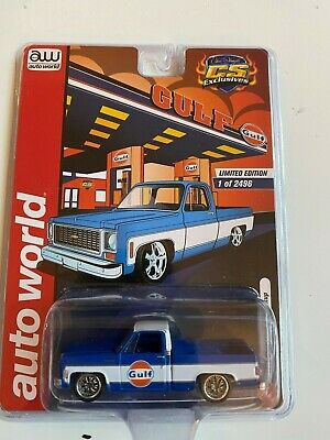2020 Auto World 1973 Chevrolet C10 Bossco Diecast Limited Edition Only 1,248