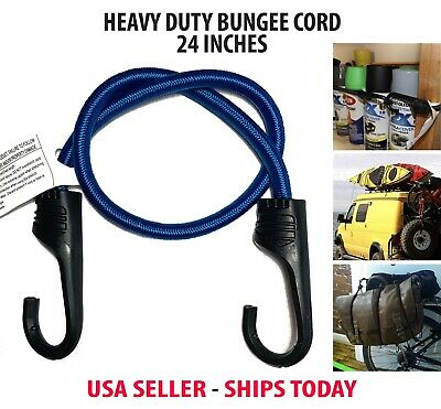 """Lot 6~36 Heavy Duty 22/"""" Bungee Cord UV /& Weather Resistant Super Strong Tie Down"""