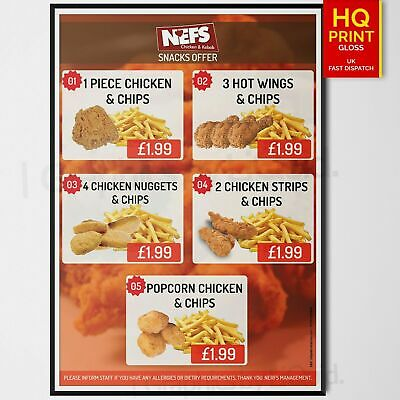 FAST FOOD TAKEAWAY BOXES CHIPS HOT DOG CHICKEN SUPA SNAX MEAL FOOD TRAYS
