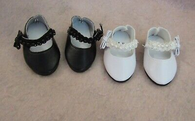 Black Jewels Shoes fit American Girl Doll 18 Inch Clothes Seller lsful