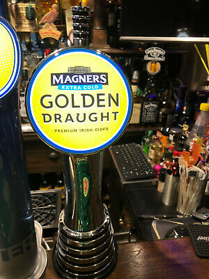 100 x Magners Extra Cold Golden Draught Cider Crisp Refreshment On Tap Coasters