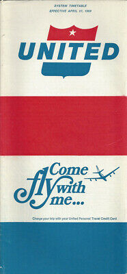 6031 Buy 4 save 25/% United Airlines system timetable 5//1//75