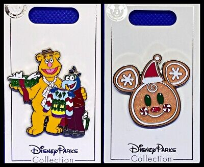 Disney Holiday Christmas 2020 Gingerbread Mickey Face Pin New OE Pin In Hans