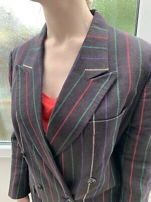 Vintage Austin Reed Beige Skirt Suit Size 16 Made In England 4 99 Picclick Uk