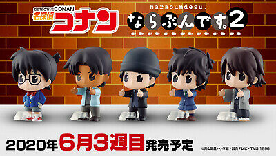 Case Closed Detective Conan Mini Figure Cafe time 8 type set Japan import NEW